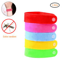 Anti Mosquito Insect Repellent Bracelet Natural Waterproof Spiral Wrist Bands