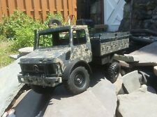 Unimog custom crawler project axial Rc4wd trail finder gelande