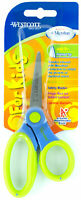 Westcott Scissors For Kids Pointed Tip Ages 6+ Microban Green/Blue Soft Handle