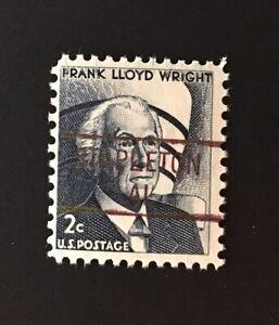 Stapleton, Alabama Precancel - 2 cents Frank Lloyd Wright (U.S. #1280) MNH - AL