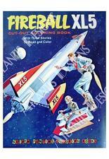 Fireball XL-5 Coloring Book Fridge Magnet 2 x 3