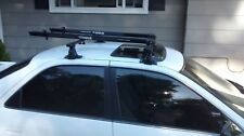 "Thule 50"" Roof Rack for Toyota Camry 1997-2003 and 2 fork mount bike carriers"
