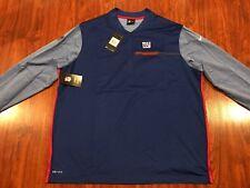 Nike Men's Coaches Sideline New York Giants Jacket Jersey NFL Football XXL 2XL