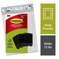 Command Picture Hanging Strips, Medium, 16 pairs 36 strips, Easy to Open