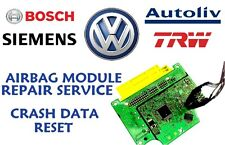 VOLKSWAGEN POLO 9N 1C0909605K AIRBAG SRS MODULE CRASH DATA RESET REPAIR SERVICE