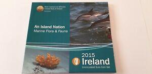 Irlande 2015 Coffret BU Euro - 8 pièces de 1 cent à 2 euro