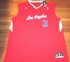 ADIDAS REVOLUTION 30 NBA LOS ANGELES CLIPPERS CHRIS PAUL RED JERSEY SIZE 2XL