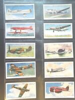 1938 Wills Speed Boat Plane Car Cycle Tobacco cards complete  EX 50 card set