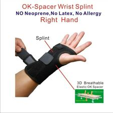 IRUFA 3D Breathable Patented Fabric RSI Wrist Splint Brace Support (Right Hand)