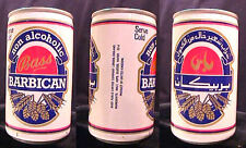 BASS BARBICAN NON ALCOHOLIC - 1987 33CL PULL TAB CAN - ARABIC WRITING - LONDON