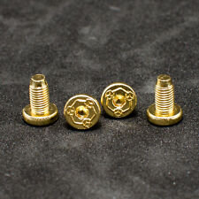 For RUGER 1911 Grip Screws Fits All 1911 Grips Models Gold plated 4 pcs