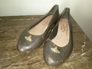 Vivienne Westwood Anglomania Melissa Vegan Jelly Ballet Flats, Women's, Size 38
