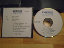 RARE PROMO Curb publishing DEMO CD 6x country songs UNRELEASED Lisa Brokop 2002