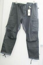 Dockers Mens Alpha Urban Twill Cargo Pants Gray Colorblocked Sz 38x29 - NWT