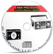 Ultimate Instruction Manual Library, B&K Precision, 411 Operating Manuals CD C09