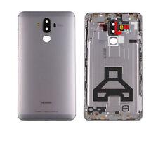 Para Huawei Mate 9 MHA-AL00 COMPLETO CARCASA batería de la puerta trasera de metal caso cubierta gris