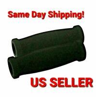 NEW BLACK FOAM RUBBER RAZOR KICK SCOOTER HANDLEBAR GRIPS /& END CAPS//ENDCAP