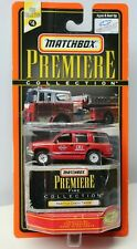 Matchbox PREMIERE Collection - SEATTLE FIRE DEP'T. - CHEVY TAHOE - 1/64