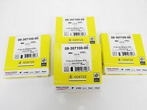 4x Piston Rings Vauxhall 1,4l 8V 16V Corsa B Tigra A X14XE C14NZ C14SE X14SZ Ø
