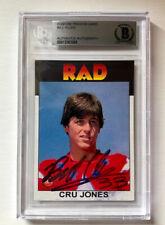 Bill Allen RAD CUSTOM trading card BGS certified signed card Cru Jones