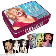 Marilyn Monroe Playing Card Tin-NEW