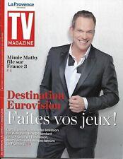 TV MAGAZINE n°22832 07/01/2018  Eurovision: Garou/ Mimie Mathy/ Le tueur du lac