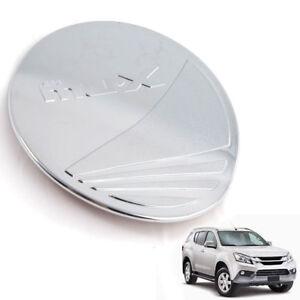 For 14+ Isuzu MU-X Fuel Oil Cap Tank 4 Door Cover Trim Chrome 1 PC
