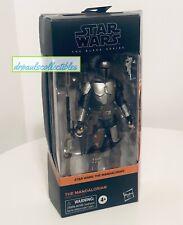 Star Wars Black Series The MANDALORIAN BESKAR Armor 6? Figure Brand New HTF