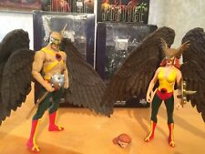 Alex Ross Justice League JLA Hawkman & Hawkgirl action figure lot DC Direct