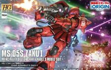 Gundam 1/144 HG The Origin #013 MS-05S Char Aznable's Zaku I Model Kit