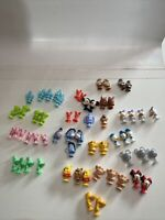Disney Miniature Micropop Suction  Cups Figures Lot Of 59 Mickey, Minnie, Pluto,
