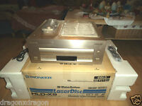 Pioneer HLD-X9 Muse HiVision LD Player, Gold, NTSC, inkl. OVP / FB / RARE