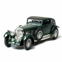 1:32 Scale Vintage Bentley 8-Litre 1930 Model Car Diecast Gift Toy Vehicle Green