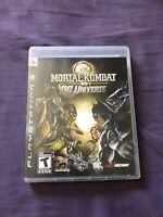 Mortal Kombat Vs DC Universe Sony Playstation 3 PS3 (Midway, 2008) VG