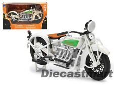 NewRay 1 12 1934 Indian Chief Motorcycle White 42163