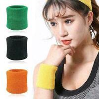 1 Paar Handgelenk Schweißbänder Armbänder Unisex Fitness Schweißbänder Gym R1E1