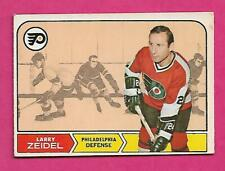 1968-69 OPC # 92 FLYERS LARRY ZEIDEL GOOD CARD  (INV# C3191)
