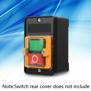 Motor ON/OFF Push Button Machine Drill Switch Water Proof For 10A 380V KAO-5