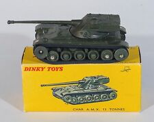 French Dinky 80C A.M.X. 13 Tonnes Tank. Green. VNMINT/Boxed. 1950's