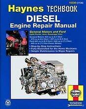 Diesel Engine Repair Haynes Manual Powerstroke NEW gm Owners Book Shop Service