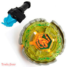 NIGHTMARE REX BEYBLADE Masters Fusion Metal Fight+GRIP+BLUE SPIN LAUNCHER