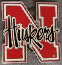 NCAA Pewter Belt Buckle Nebraska Cornhuskers NEW