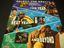 CHUBB ROCK KID N PLAY and E.S.P. this..next..beyond 1991 PROMO POSTER AD mint