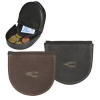Minibörse Schüttelbörse Leder 2 Farben Taschenbörse Camel Active Vegas