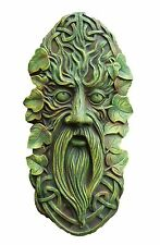 Large Green Man Tree Wall Plaque Garden Ornament Statue Figure Decorations 30cm