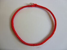 "A Red STRING KABBALAH LUCKY BRACELET Against Evil Eye for Success 7""  jade bead"
