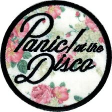 89115 Panic At the Disco Floral Flowers Emo Pop Punk Embroidered Iron On Patch