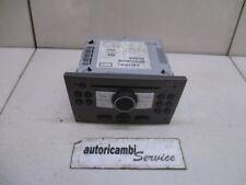 13292085 AUTORADIO OPEL MERIVA 1.4 B 5M 66KW (2008) RICAMBIO USATO (NON FORNIAMO