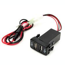 Dual Caricatore Per Accendisigari Da Auto Universale Usb 12V Presa Accendis R3G7