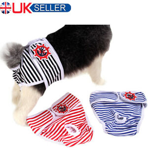 Pet Dog Sanitary Pants Physiological Nappy Diaper Cotton Short Underwear Panties